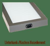 Unterbank-/Kirchen-Heizelement
