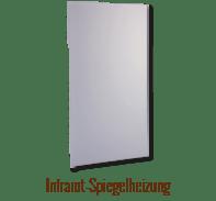 Infrarot-Spiegelheizung