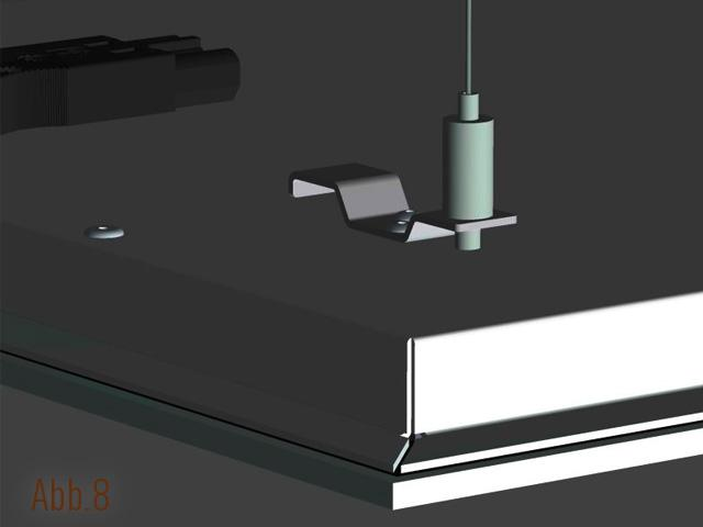 die infrarotheizung von vitramo an seilen abgeh ngt. Black Bedroom Furniture Sets. Home Design Ideas
